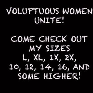 Other - Voluptuous Women Come Check Out My Clothes